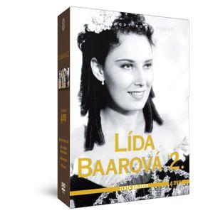 Lída Baarová 2 - Zlatá kolekcia 4 DVD: Som dievča s čertom v tele + Lelíček v službách Sherlocka Hol