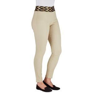 Komfortné nohavice Gold, béžové, veľ. M