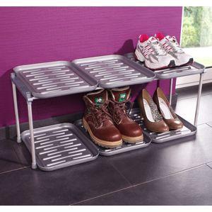 Stojan na topánky so 6 odkvapkávačmi