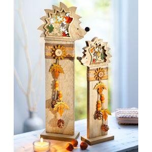 Dekoračné stĺpiky Ježkovia, 2 kusy