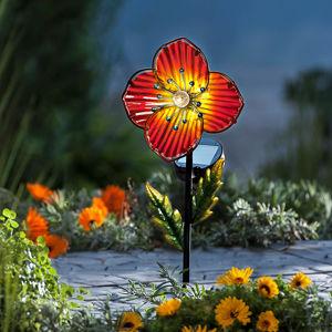 Záhradný zápich Anemone, červený