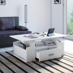 Konferenčný stolík Junata, biely