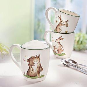 Hrnčeky Zajac, 3 kusy