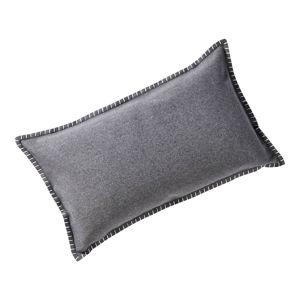 Povlak na vankúš 50 x 30 cm, sivý