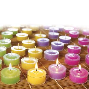Vonné čajové sviečky, 48 ks