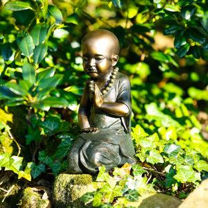 Záhradná soška Mních Dawa