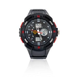 Náramkové hodinky Roadsign R14055, čierna-červená
