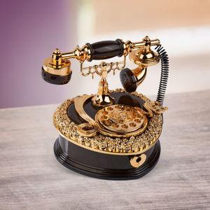 Hrací šperkovnica Telefón