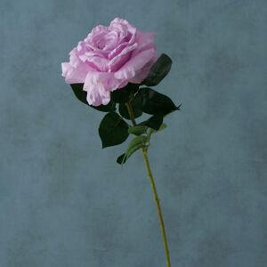 Umelá kvetina Ruža, ružová